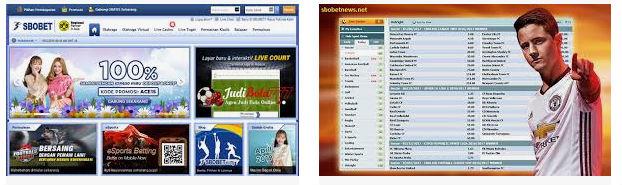 Website untuk bermain judi online sbobet